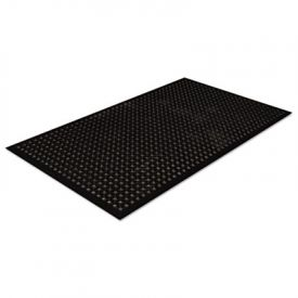 Crown Safewalk-Light Heavy-Duty Anti-Fatigue Mat, Rubber, 36 x 60