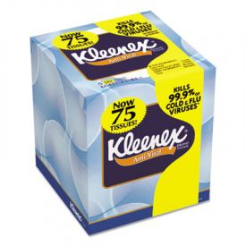 Kleenex® BOUTIQUE* Anti-Viral Facial Tissue, 3-Ply, Pop-Up Box