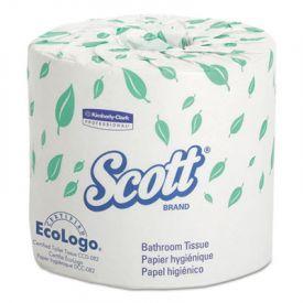 Scott® Standard Roll Bathroom Tissue, 2-Ply, 550 Sheets/Roll