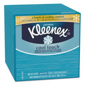 Kleenex® Cool Touch Facial Tissue, 2-Ply
