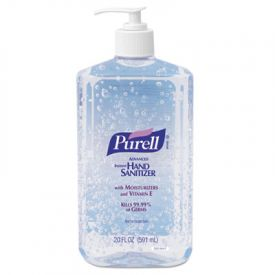 PURELL® Advanced Instant Hand Sanitizer 20-oz. Pump Bottle **Unavailable until Mid March**