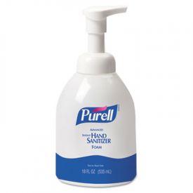 PURELL® Non-Aerosol Foaming Hand Sanitizer, w/Moisturizers, 18 oz Pump