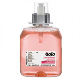 GOJO® FMX-12; Refills, Cranberry, FMX-12 Dispenser, 1250ML Pump