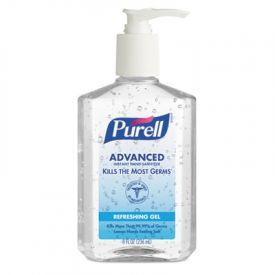 PURELL® Advanced Instant Hand Sanitizer, 8oz Pump Bottle