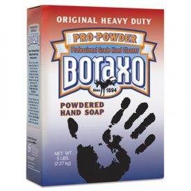 Boraxo® Original Powdered Hand Soap, Unscented Powder, 5lb Box
