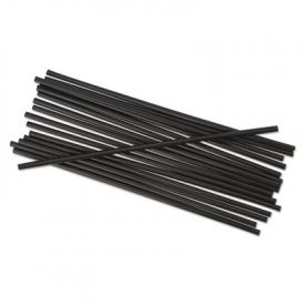 Boardwalk® Unwrapped Stir-Straws, 5 1/4