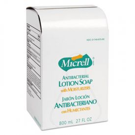 GOJO® MICRELL; Antibacterial Lotion Soap, Liquid, Light Scent, 800ML