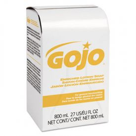 GOJO® 800-ML Bag-in-Box Refills, Herbal Floral, 800ML