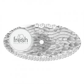 Fresh Products Curve Air Freshener, Mango, Clear, 10/Box