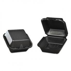 Genpak® Snap It Lid Foam Food Container, 5-13/16x5-11/16x3-1/8
