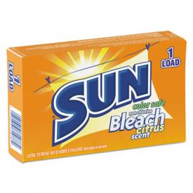SUN® Color-Safe Powder Bleach - Vend Pack, Vend Pack, 1 load Box