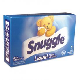 Snuggle® Blue Sparkle Liquid Fabric Softener - 1 load Vend-Box