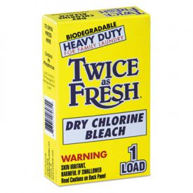 Twice as Fresh® Powdered Chlorine Bleach - Vend Pack, 1 load