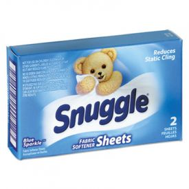 Snuggle® Vending-Design Fabric Softener Sheets, Blue Sparkle