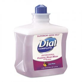 Dial Complete® Foaming Hand Wash Refill, Cool Plum Scent, 1L Bottle
