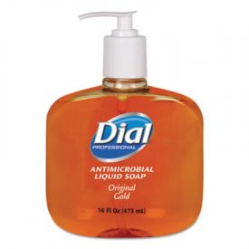 Dial® Gold Antimicrobial Liquid Hand Soap, Floral Fragrance, 16 oz