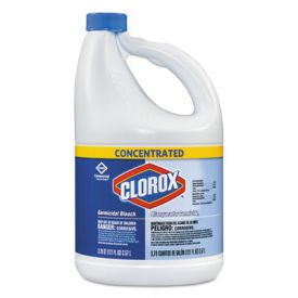Clorox® Concentrated Germicidal Bleach, Regular, 121oz Bottle