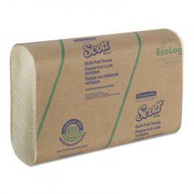 Scott® Folded Paper Towels, 9 2/5 x 9 1/5, White