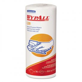 WypAll* L30 Wipers 05843, 11 x 10 2/5, White