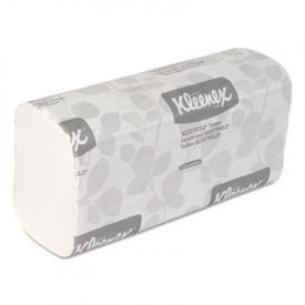 Kleenex® Folded Paper Towels, 9 2/5 x 12 2/5, White