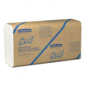 Scott® Folded Paper Towels, 9 1/5 x 9 2/5,