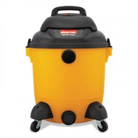 Shop-Vac® Industrial Wet/Dry Vacuum, 12gal, 2.5hp, Yellow/Black