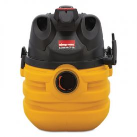 Shop-Vac® Heavy-Duty Portable Wet/Dry Vacuum, 5-Gal., 17 lbs