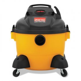 Shop-Vac® Right Stuff® Wet/Dry Vacuum, 8 A, 19 lbs, Yellow/Black