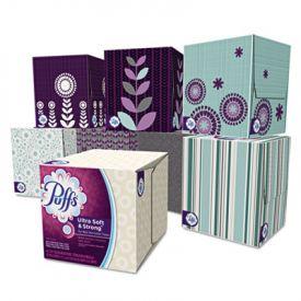 Puffs® White Facial Tissue, Puffs, White