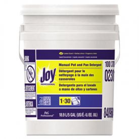 Joy® Dishwashing Liquid, Lemon Scent, 5 Gallon Pail