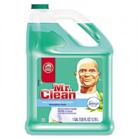 Mr. Clean® Multipurpose Cleaning Solution with Febreze; 128 oz Bottle