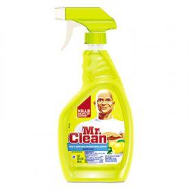 Mr. Clean® Multi-Surface Antibacterial Cleaner, Lemon, 32 oz Bottle