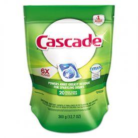 Cascade® ActionPacs®, Fresh Scent, Blue, 12.7 oz Reclosable Bag