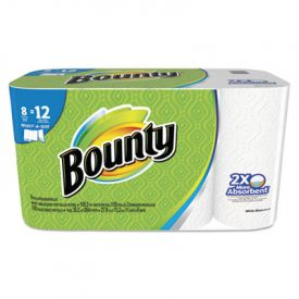 Bounty® Select-a-Size Perforated Roll Towels, 2-Ply, White, 6 x 11