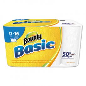 Bounty® Basic Select-a-Size Paper Towels, 5 9/10 x 11, 1-Ply