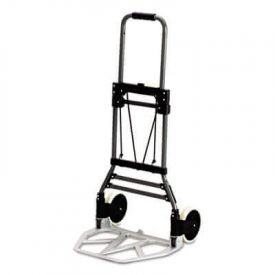Safco® Stow-Away® Collapsible Hand Truck, 275lb Capacity, 19w x 17 3/4d x 38 3/4h