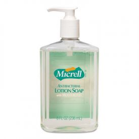 GOJO® MICRELL; Antibacterial Lotion Soap, Light Scent , 8 oz Pump