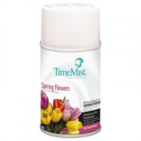 TimeMist® Metered Aerosol Fragrance Dispenser Refills, Flowers, 6.6 oz