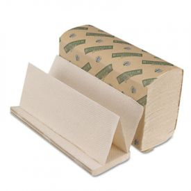 Boardwalk® Green Folded Towels, Multi-Fold, 9 1/8 x 9 1/2