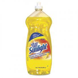 Sunlight® Liquid Dish Detergent, Lemon Scent, 38 oz Bottle