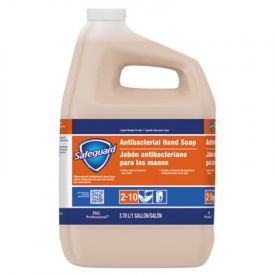 Safeguard® Antibacterial Liquid Hand Soap, Liquid, 1 Gallon