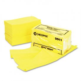 Chix® Masslinn® Dust Cloths, 24 x 24, Yellow