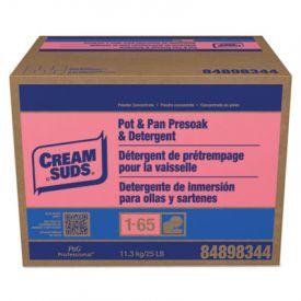 Cream Suds® Dishwashing Detergent, Baby Powder Scent, Powder, 25 lb. Box