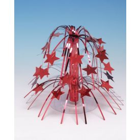 Centerpiece Red Stars Mini Cascade