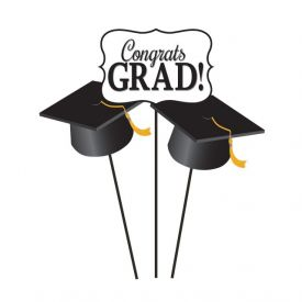 Grad Centerpiece Sticks