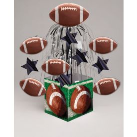 Tailgate Rush Centerpiece, Mini Cascade, w/ Base