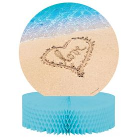Beach Love Centerpiece, Honeycomb