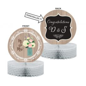 Rustic Wedding Centerpiece, Honeycomb, Diecut Set