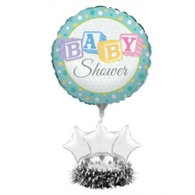 Air Filled Balloon Centerpiece Kit, Baby Shower