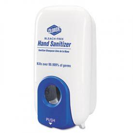 Clorox® Hand Sanitizer Dispenser, 1000 ml, White/Blue
